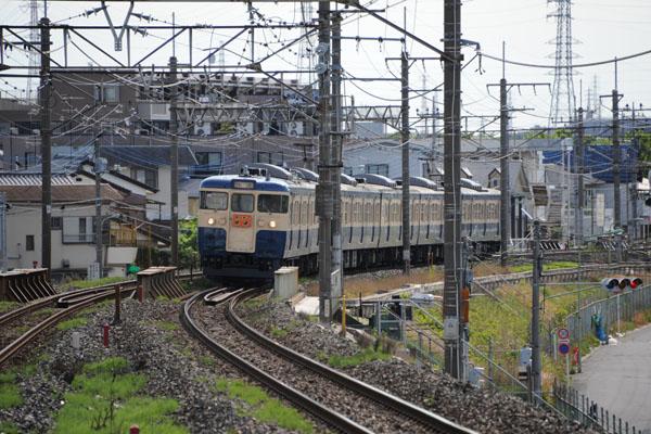 115系M40 ホリデー快速鎌倉(9524M)